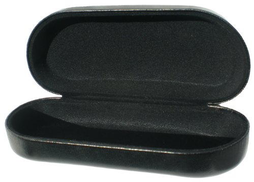 902f274df6e Sunglass Case – Hard Metal Core Flip Top Eyeglass Storage Case for Large – Extra  Large Sunglasses   Eyeglasses – Classic Style For Men   Women – Protect ...